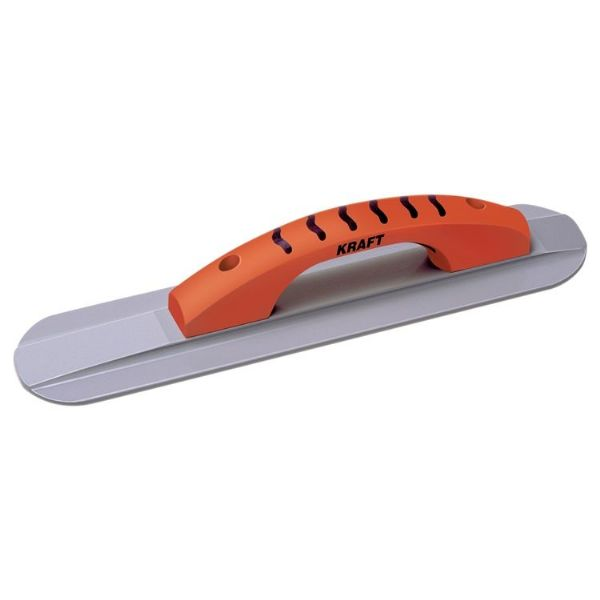 "Magnesium Hand Float 18"" x 3.25"" (457mm x 83mm) Round End with Proform Handle - Kraft Tool"